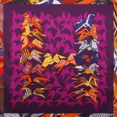 Hermes-origami-horses-silk-scarf