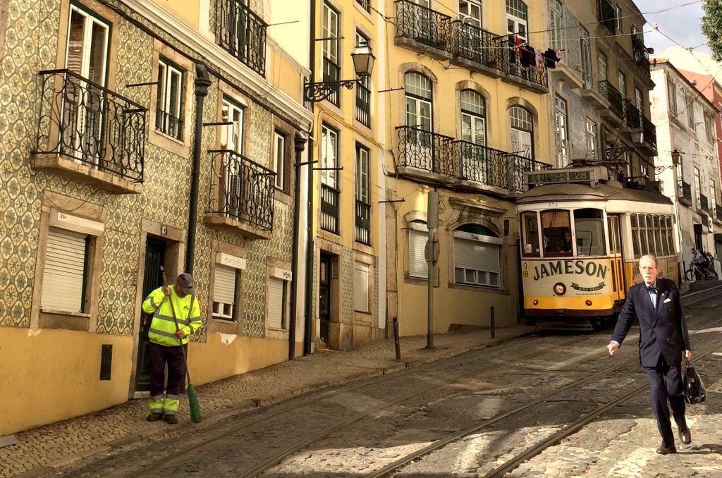 Vintage-tram-Lisbon